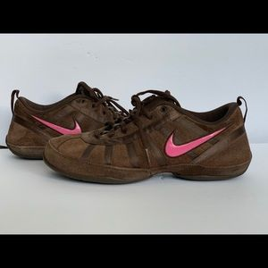 Women's Nike Suede Casual Dance Gym Shoes